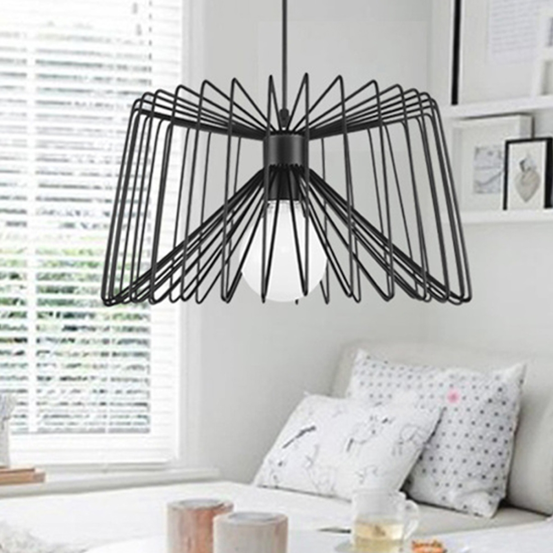 Cool Hanging Lights For Bedroom Ywxlight Nordic Modern Hanging Lamp Creative Iron Art Simple Spider Pendant Light E27 Bulb Perfect For Kitchen Dining Room Bedroom Living Room Cold