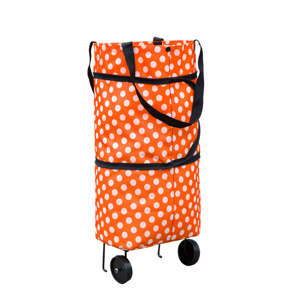 Shopping Trolley Bag On Wheels Australia Folding Foldable Shopping Trolley Bag Cart Grocery Handbag Tote Rolling Wheels