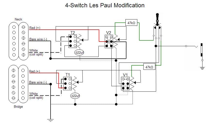 epiphone dot wiring diagram