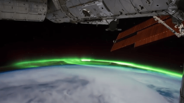 Time Lapse from the ISS