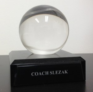 Coach's Tennis Crystal Ball