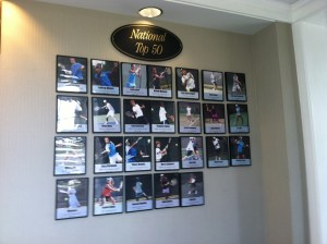 Nationals Wall at JTCC