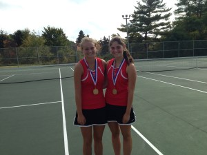Players on my team after winning the WPIAL Doubles Gold