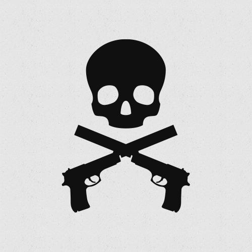 Pistolzine Logo