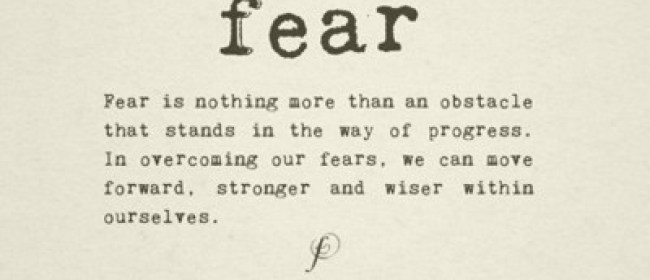 Facing a life long Fear