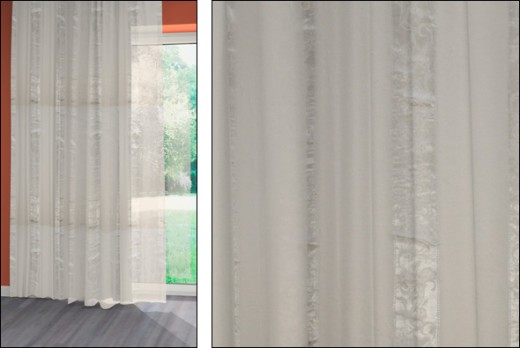 Gardinen Erfurt Jacquard-crash-voile-stores Gardinen Alfa Home Collection