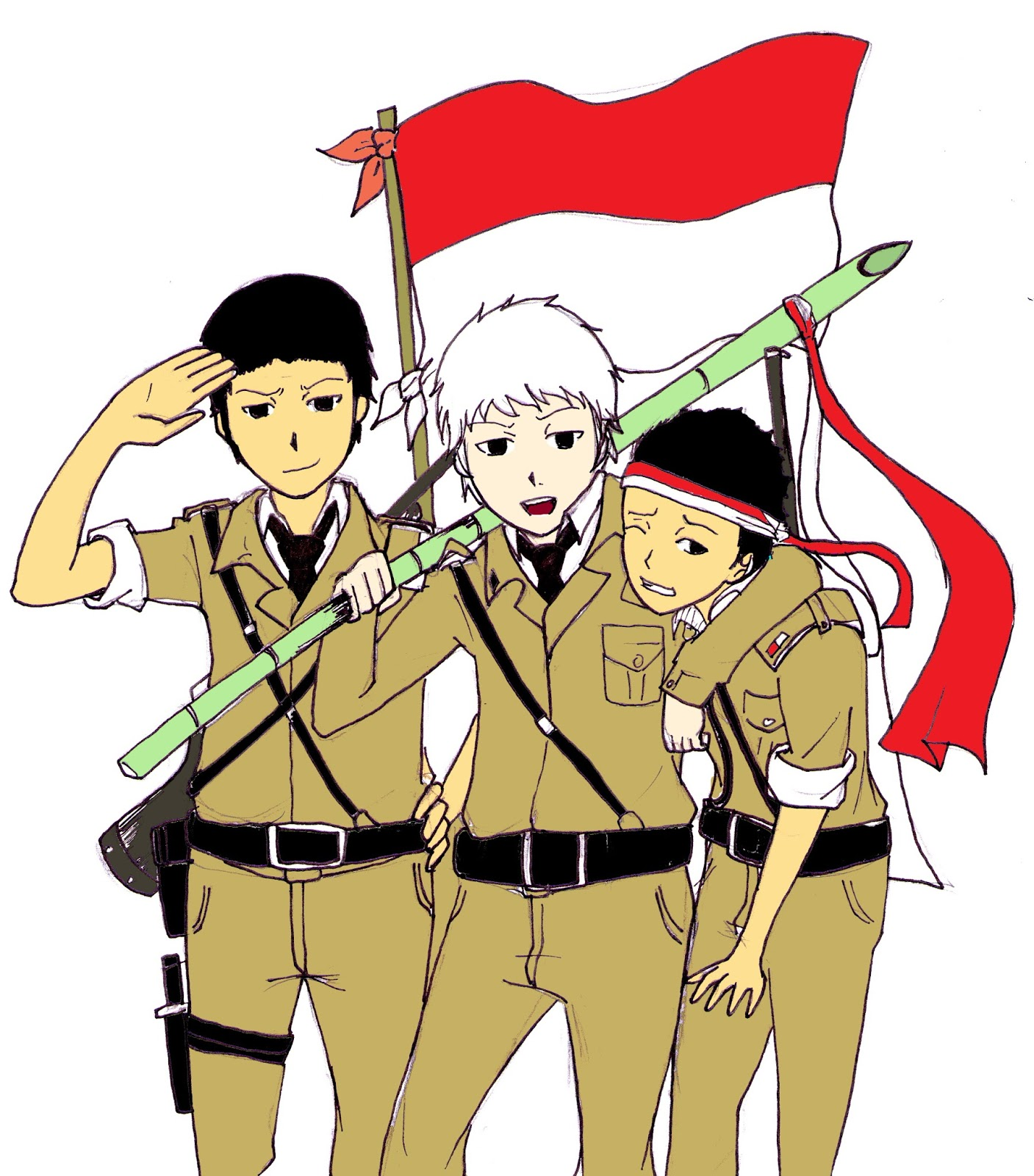 Kumpulan foto dan gambar kartun Hari Pahlawan 10 November