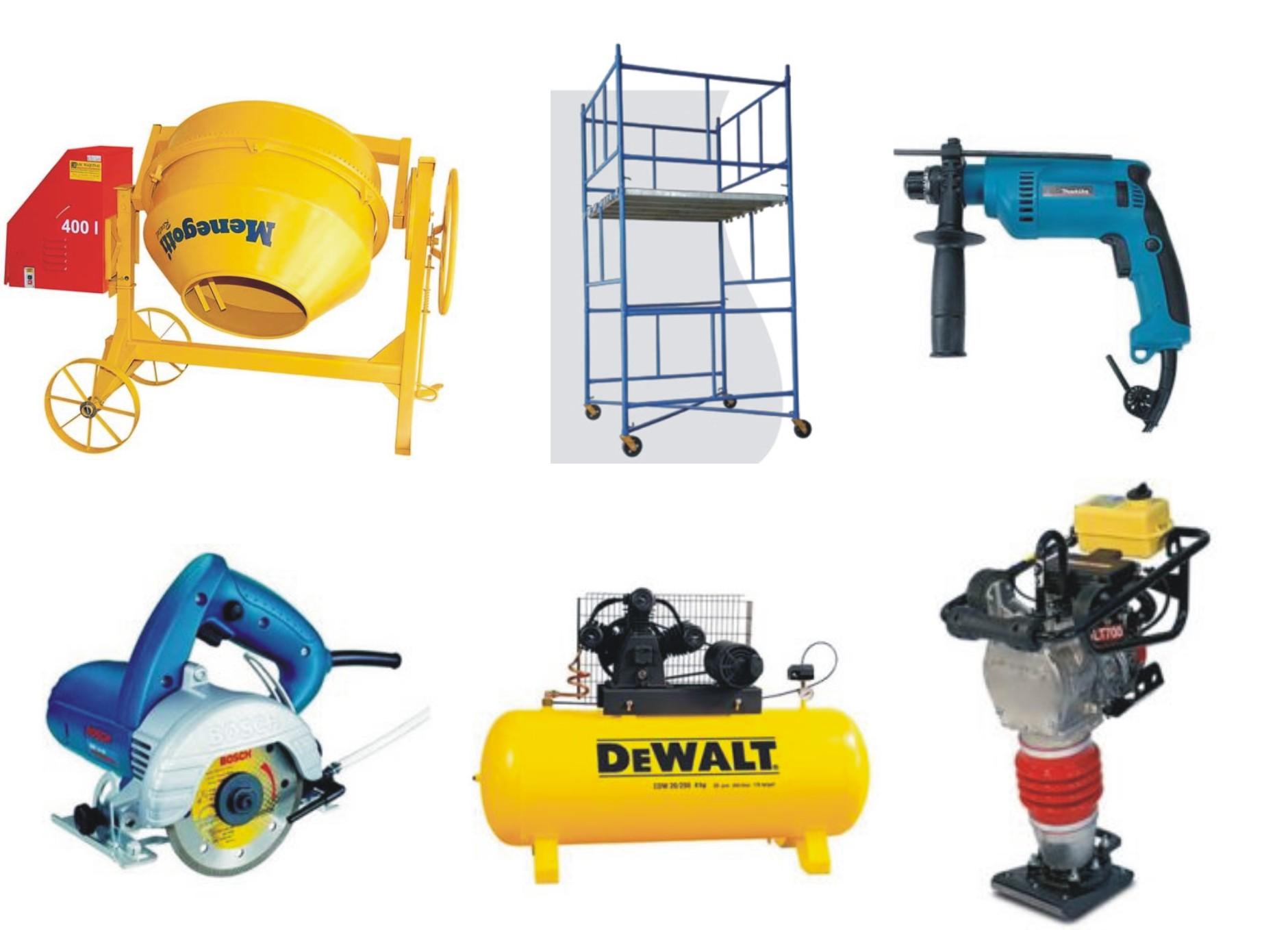 4 motivos para alugar equipamentos de construção civil com a ALG Andaimes