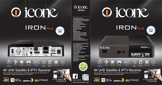 Smart Iptv Icone Iron Plus 4k 2018 Iptv مواصفات Algerie - Algeria
