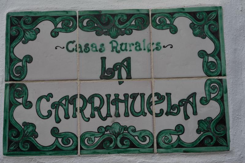 Azulejo entrada Carrihuela Verde
