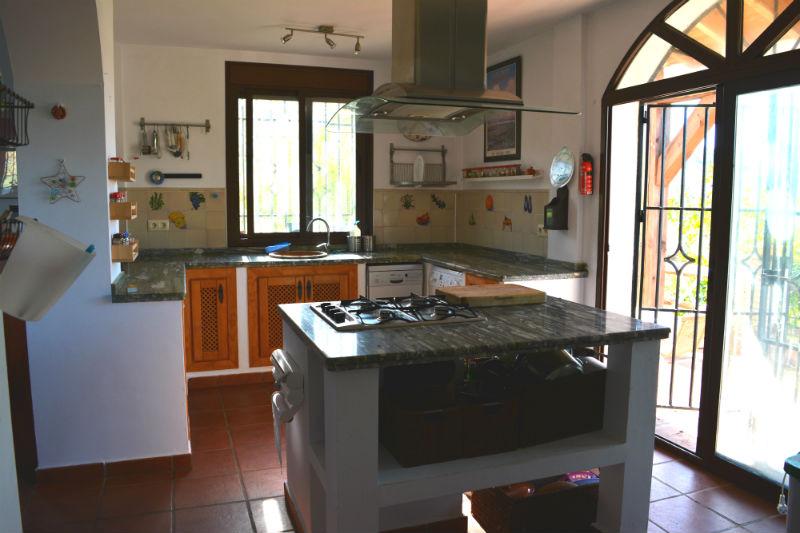 Cocina Villa Madrigueras Casa Rural