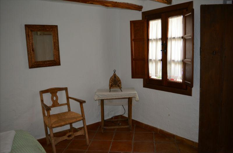Detalle dormitorio Carrihuelva Verde