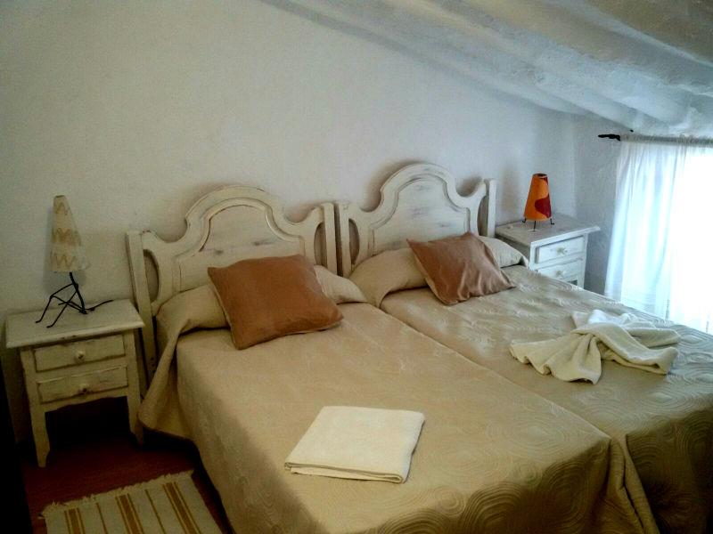Dormitorio doble Cueva Solea Casa Rural