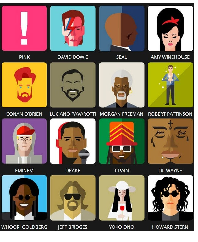 Icon Pop Quiz Answers Famous People Level 3 | Tutoriales y ...