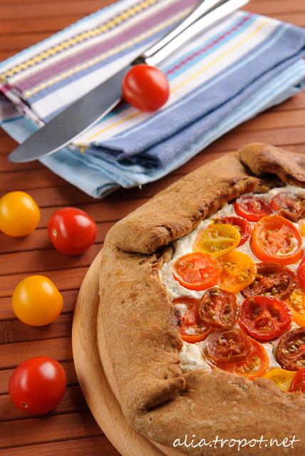 DSC 0043 2 Галет с рикота и домати