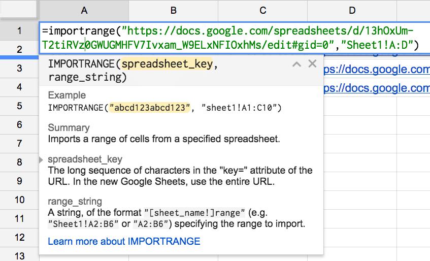 Importrange google sheets alice keeler