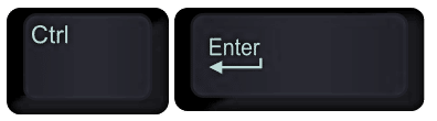 control enter