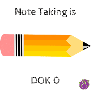 note taking dok 0