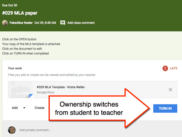 Ownership Switch