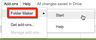 how to make google drive folder searchable