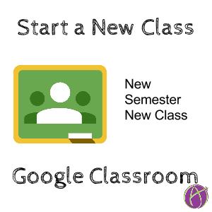 new semester new class