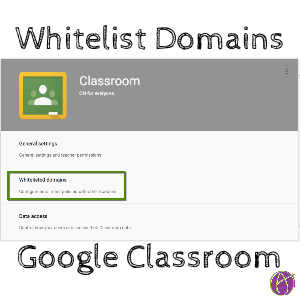 Whitelist domains