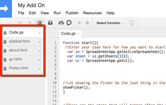 add on template drive picker alice keeler script