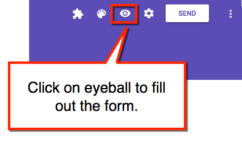 how to make an answer key in google forms
