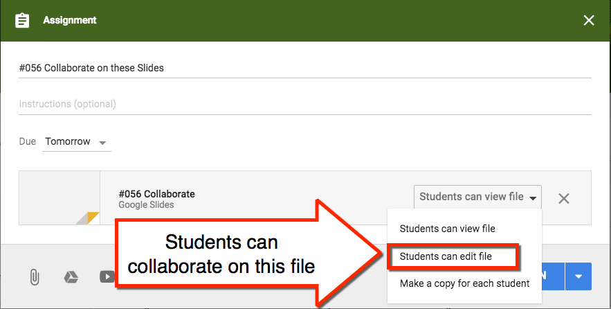 students can collaborate on this google doc