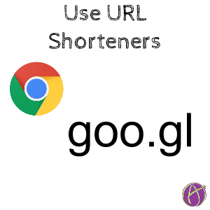 use url shorteners short URL