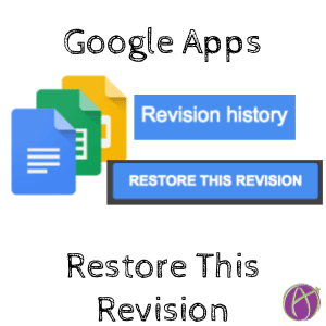 Google Apps: Updates to Revision History