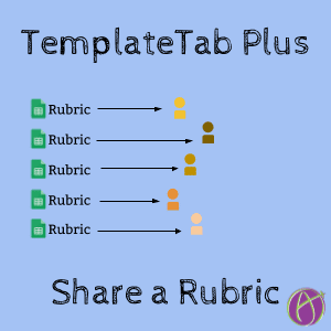 TemplateTab Plus: Send a Rubric to Each Student