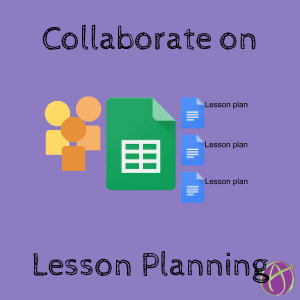 Collaborative Lesson Plan Template