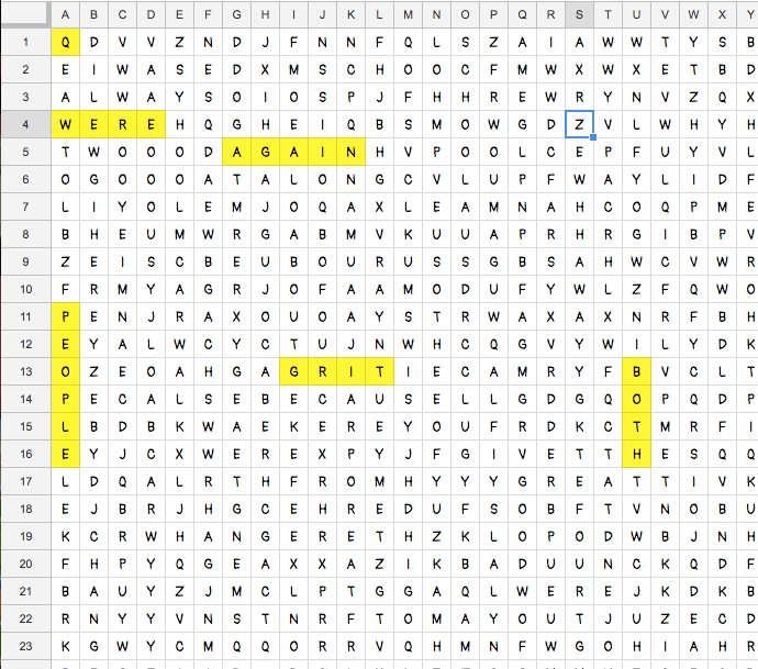 how to make a word search on google drive