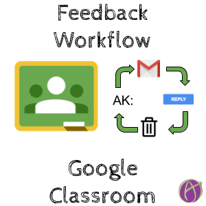 My Respond to Private Comments in Google Classroom Workflow