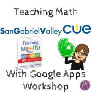 teaching math with google apps workshop