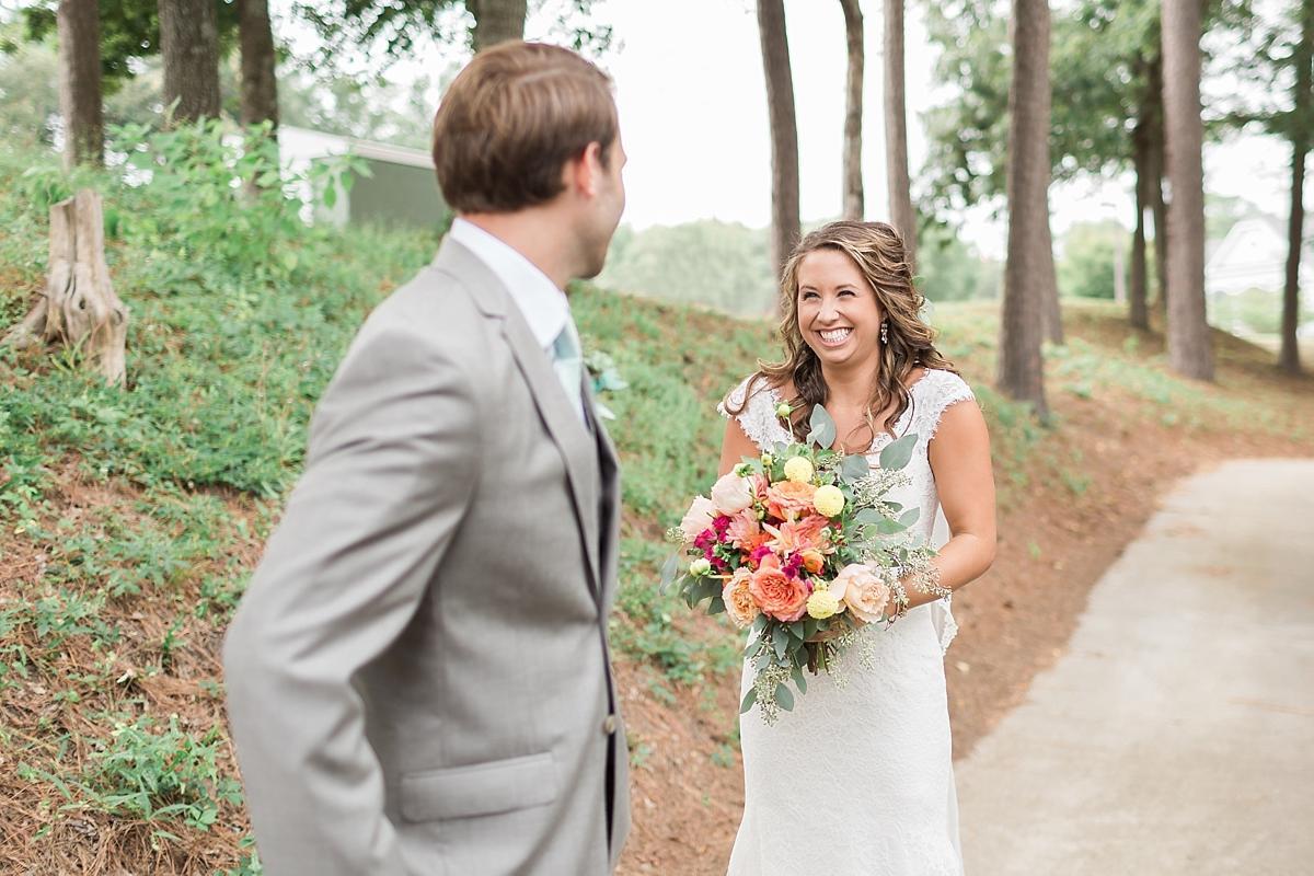 Fullsize Of First Look Wedding
