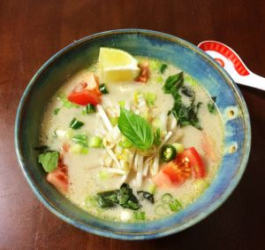 Tom Kai Gai- Thai Chicken and Coconut Soup