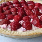 Fresh Strawberry Pie ~ Lightened up!