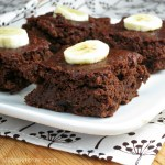 chocolate banana brownies