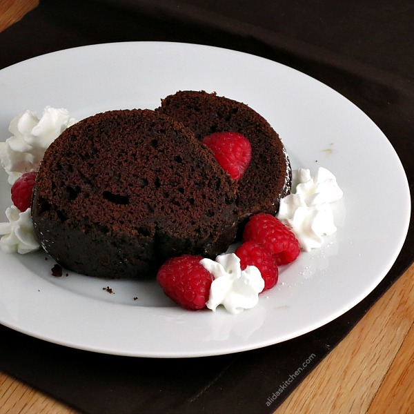 Red Wine Chocolate Cake from Alida's Kitchen