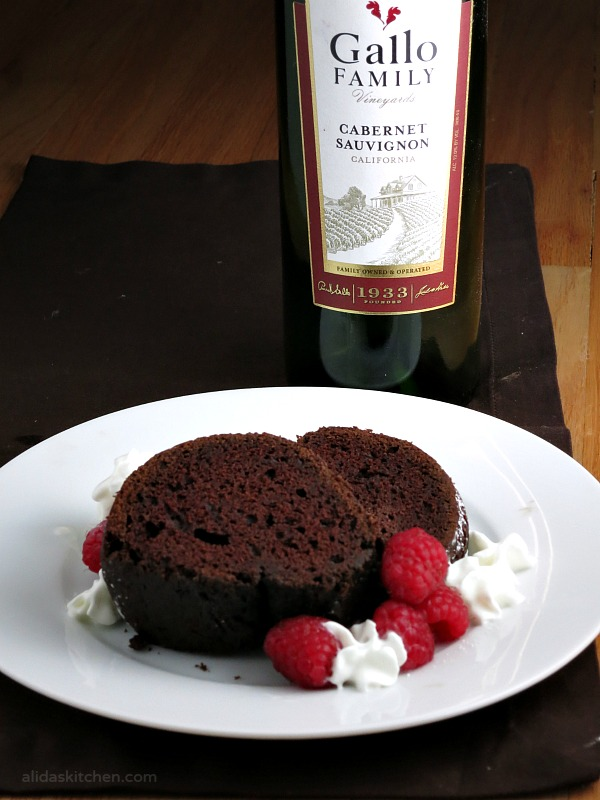 Red Wine Chocolate Cake | alidaskitchen.com
