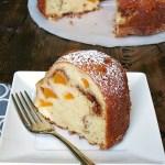 Peach Buttermilk Bundt Cake