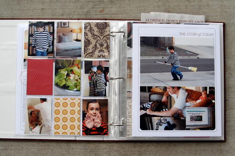 Ali Edwards Design Inc Blog Week in the Life  Album Creation Part
