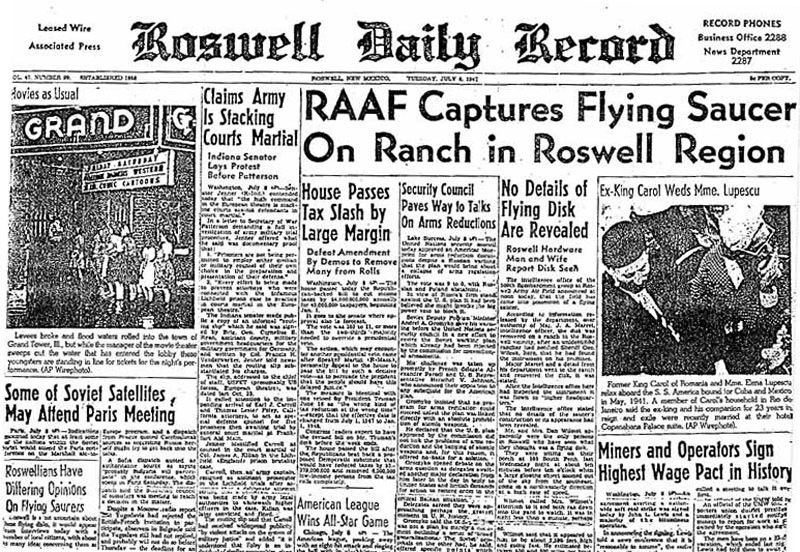 Roswell UFO Controversy: Former Air Force Officer Says Gen. Ramey Lied to Cover Up Space Ship Crash