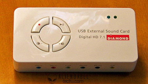 TheDevice 1 Diamonds Xtreme Sound External digital HD 7.1 Sound Card review