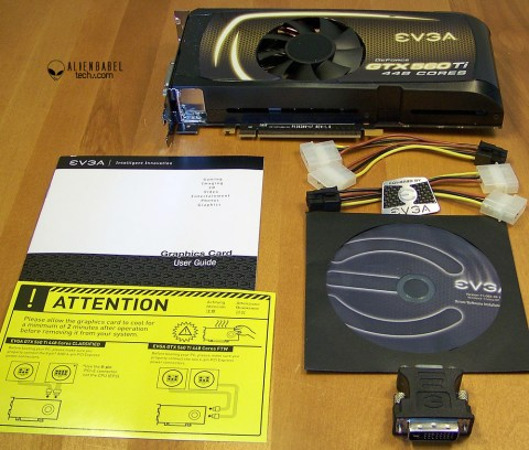 Box contents Introducing the new EVGA GTX 560 Ti 448 Core FTW