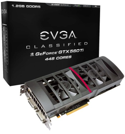 Classified1 Introducing the new EVGA GTX 560 Ti 448 Core FTW