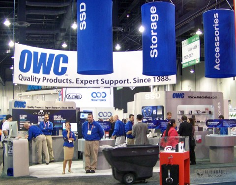 OWC Behind the Scenes at CES 2012