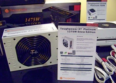 Tt PSUs 1 Behind the Scenes at CES 2012